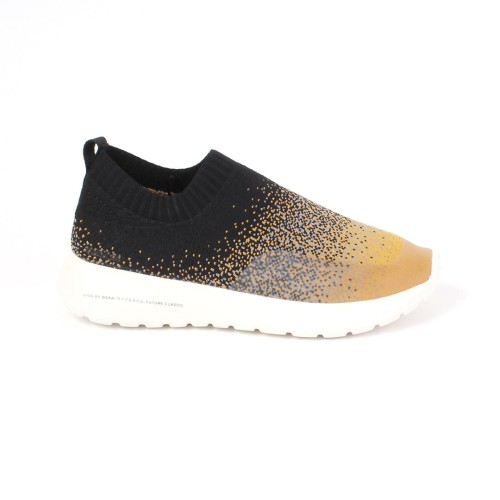 Foto Produk Footwear Women Wakai FW11929 GYOU Black/Mustard - 37 dari Wakai Official Store