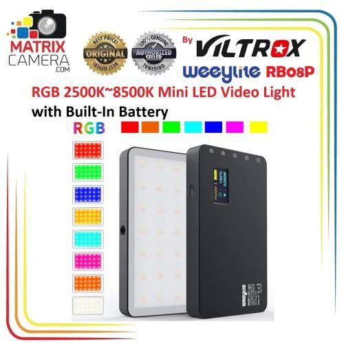 Foto Produk Viltrox Weeylite RB08P Mini RGB LED Video Light dari MatrixCamera