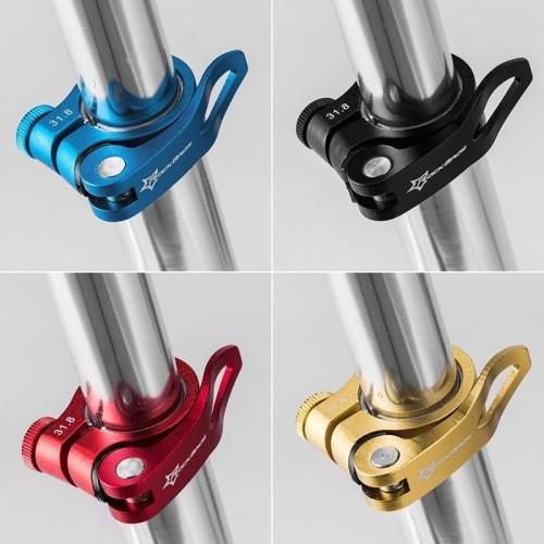 Foto Produk Seat Clamp 34.9 31.8 Alloy Pengunci Tiang Sadle Seatpost Sepeda dari Idola Bike Shop