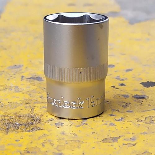Foto Produk SHERLOCK 1/2 INCH KUNCI SHOCK 19 MM 6 PT/ MATA SOK /SOCK dari SHERLOCK TOOLS