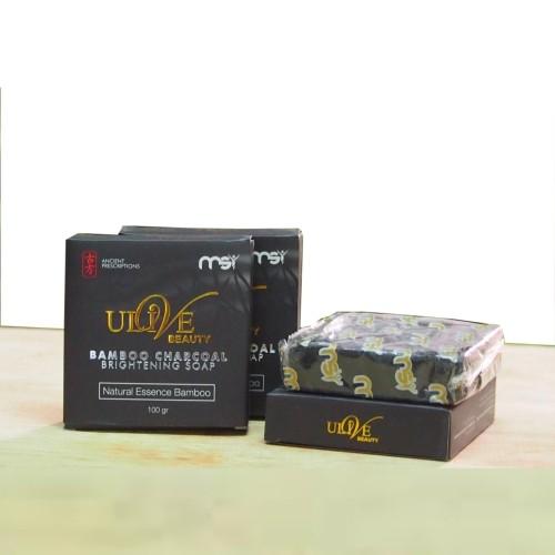 Foto Produk MSI Bamboo Charcoal Soap Original| Sabun Arang Bamboo MSI Original dari Grosir Kosme Herbal