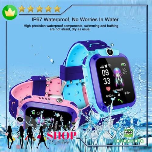 Foto Produk Smartwatch Anak IP67 Kamera Telephone Gps Waterproof - Q12 [BW] dari Aurelz Onlineshop