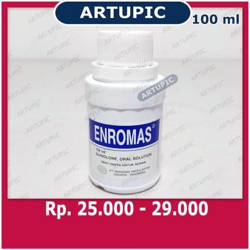 Foto Produk Enromas 100 ml Obat Ayam Diare CRD Snot Cholera Diare Pilek Mycoplasma dari ArtupicPeralatanPeternak