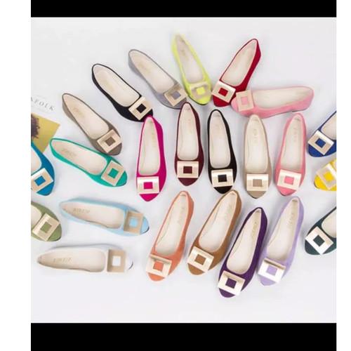 Foto Produk Flatshoes Malika - Kuning, 37 dari yoen store88