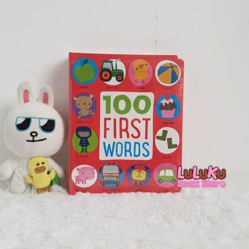 Foto Produk Buku Edukasi Import Baby Board Book - 100 First Words dari LuLuKu Book Store