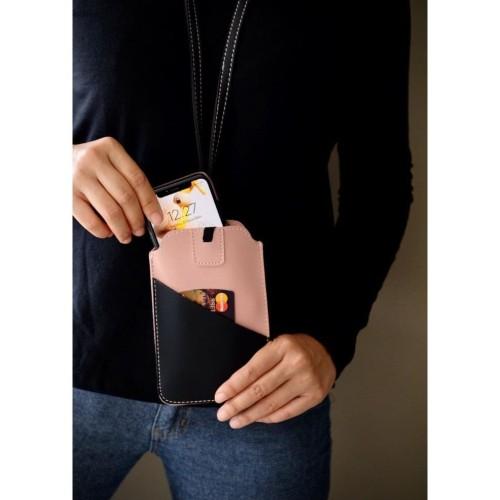 Foto Produk Tempat Hand Phone/ Tempat ID Card Warna Pink dari Technozio