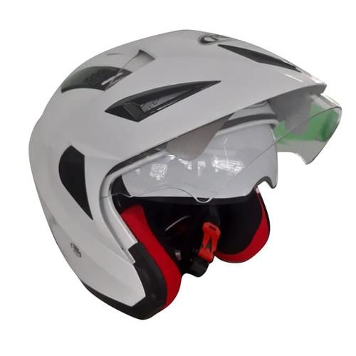 Foto Produk Helm RDX Venom Solid White dari GudangHelm
