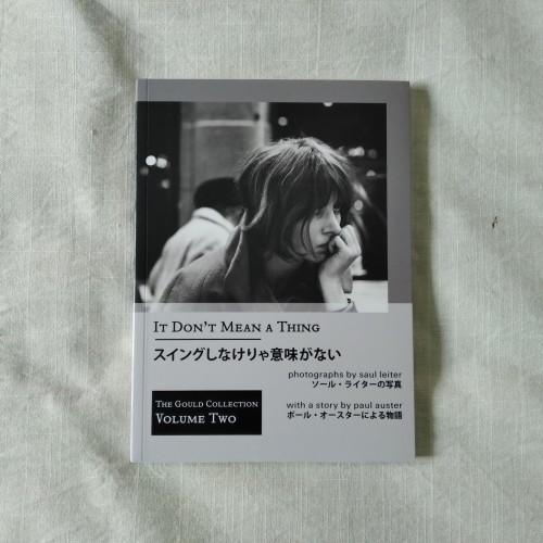 Foto Produk Saul Leiter & Paul Auster - It Don't Mean A Thing, Buku Foto Photobook dari Unobtainium