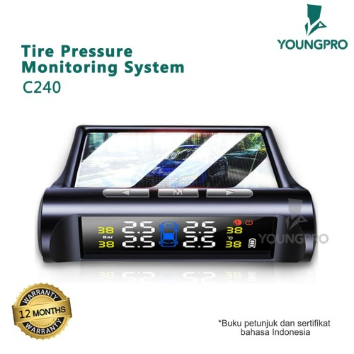 Foto Produk GARANSI 12 BULAN YOUNGPRO C240 - SOLAR TPMS SOLAR YP C240 dari Accessories Solution(AS)