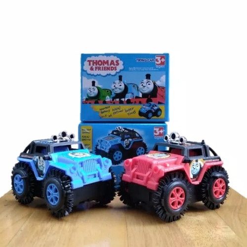 Foto Produk Thomas Tumbling Tipping Car Mainan Mobil Jungkir Balik Anak Laki dari Lancarjayatoys
