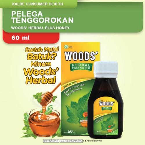 Foto Produk Woods Herbal 60ml dari Kalbe Consumer Health