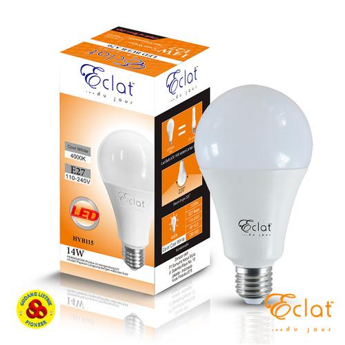 Foto Produk Eclat LED Bulb 14W Semu E27 Lampu LED 14 Watt 4000K Cool White A67 dari Gudang Listrik