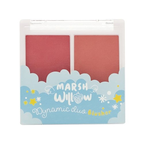 Foto Produk Marshwillow Dynamic Duo Blusher 04, by Natasha Wilona, Blush on dari MarshwillowStore