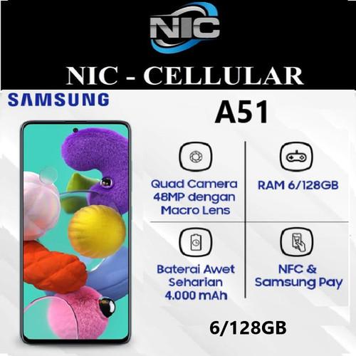 Foto Produk Samsung Galaxy A51 6/128 Ram 6GB Internal 128GB Garansi Resmi dari Nic-cell