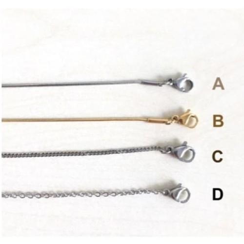 Foto Produk Rantai Kalung Stainless Steel Panlandwoo Untuk Wanita dari Panlandwoo