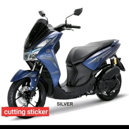 Foto Produk STRIPING LIST BODY CUTTING STICKER YAMAHA LEXI untuk motor biru dari PESOLEX