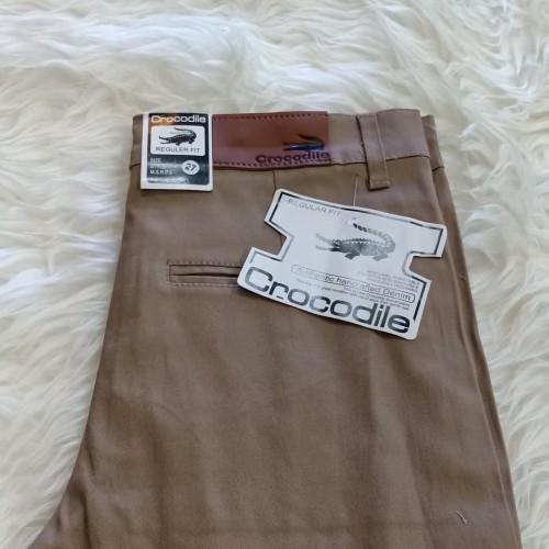 Foto Produk celana panjang pria keper chinos crocodile no 27 s/d 32 dari KOT-Collection
