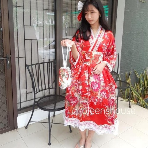 Foto Produk Pakaian Imlek Kimono Anak Remaja Baju Kostum Jepang dari Umanasaya Store