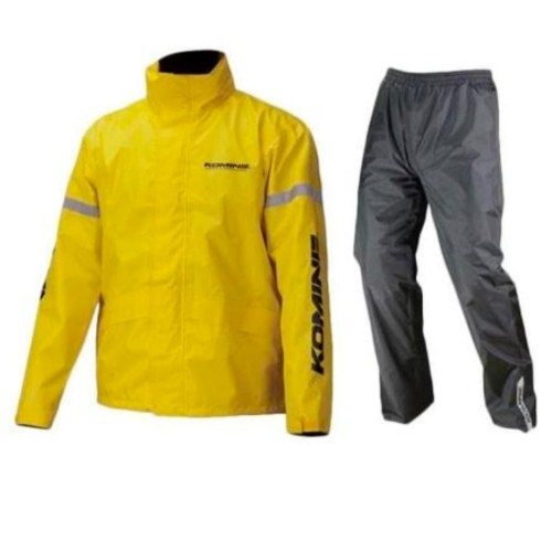 Foto Produk RAINCOAT KOMINE RK543 STD RAINWEAR ORIGINAL YELLOW dari THC-The Helmet Corp