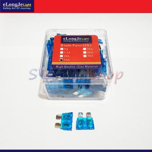 Foto Produk Fuse Sekring DX Tancap 15A (Biru) ElongJe dari Seraya Shop