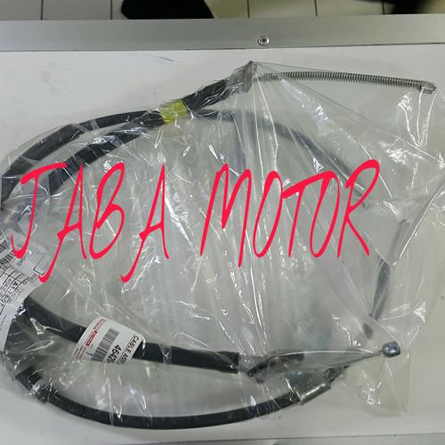 Foto Produk Kabel Hand brake yaris-Kabel rem tangan yaris E Tromol kanan RH ori dari JABA MOTOR TOYOTA