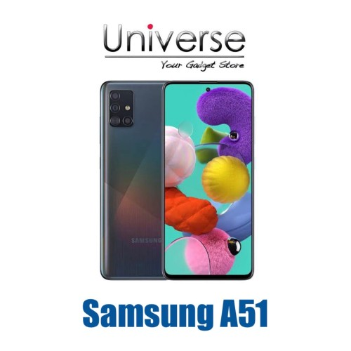 Foto Produk Samsung Galaxy A51 6/128 GB - Garansi Resmi Samsung Indonesia - Hitam dari Universe Store