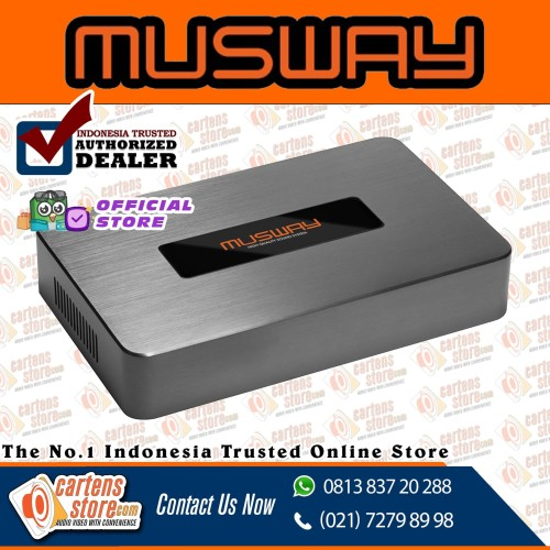 Foto Produk Power Built In Processor Musway D8v2 8-10 Channel By Cartens-Store.com dari Cartens Store