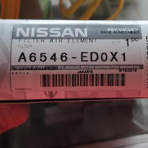 Foto Produk Filter udara Nissan Grand Livina 2007 - 2018 Original Genuine Product dari Toeng's Market