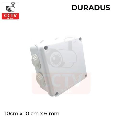 Foto Produk DURADUS/ Junction Box 100 x 100mm Waterproof High Quality dari CCTV-MURAH