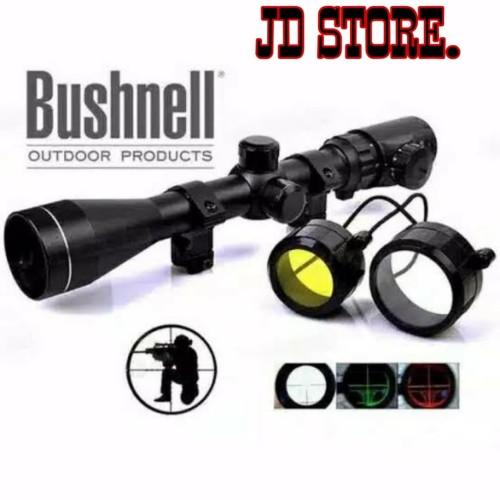 Foto Produk teropong senapan angin / bushnell BSA 3-9X40EG scope teleskop dari JD STORE..