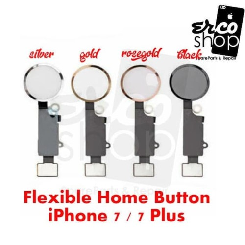 Foto Produk FLEXIBLE IPHONE 7P 7 PLUS HOME BUTTON - Merah Muda dari ERCO