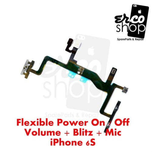Foto Produk FLEXIBLE IPHONE 6S POWER ON OFF VOLUME dari ERCO