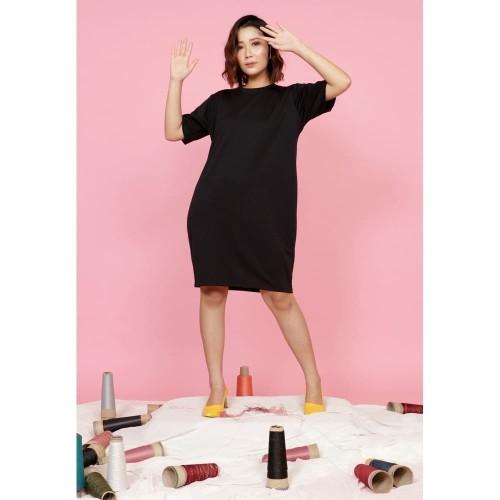 Foto Produk Yoenik Apparel Sezy Plain Dress Black M14798 R38S4 dari Yoenik Apparel