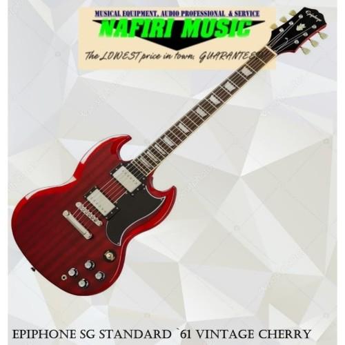 Foto Produk Epiphone SG Standard `61 Vintage Cherry dari Nafiri Music Store