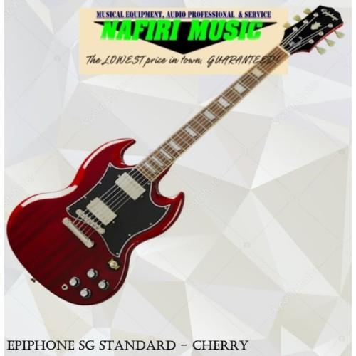 Foto Produk Epiphone SG Standard - Cherry dari Nafiri Music Store