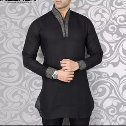 Foto Produk New Baju Kemeja Panjang India Pria Muslim / Kurta Kaftan Indian Robe dari Azalfa-shop