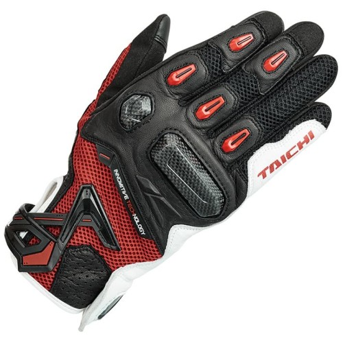 Foto Produk RS Taichi RST442 Raptor Mesh Glove - White Red - XL dari RS Taichi Official Store