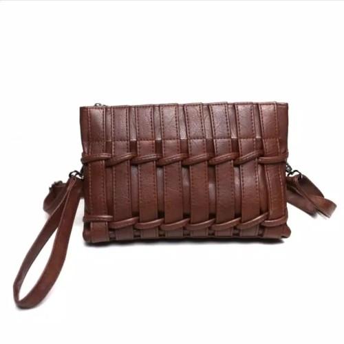 Foto Produk Tas selempang wanita import #tas wanita import termurah - Cokelat Tua dari Enggal Jaya Sentosa