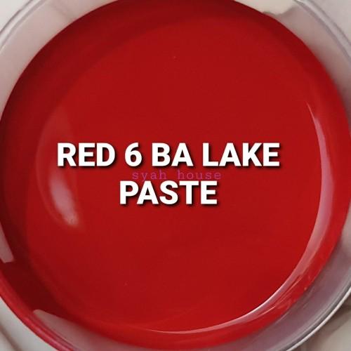 Foto Produk Red 6 Ba Lake Paste 15g/Pewarna Kosmetik Cair dari Syah-House