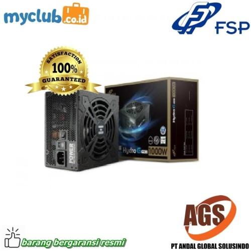 Foto Produk FSP Power Supply Hydro G Pro 1000W 80+ Gold Modular dari Myclub