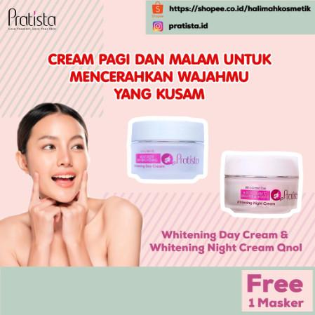 Foto Produk KRIM WHITENING DAY & NIGHT WOMEN PRATISTA Cream Pemutih Wajah dari halimah kosmetiku