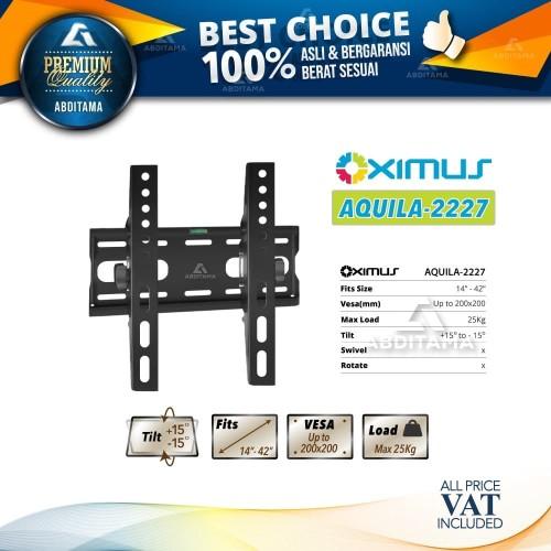 "Foto Produk BRACKET TV Tilt LCD LED TV 14"" - 42"" OXIMUS AQUILA 2227 dari Abditama Official"