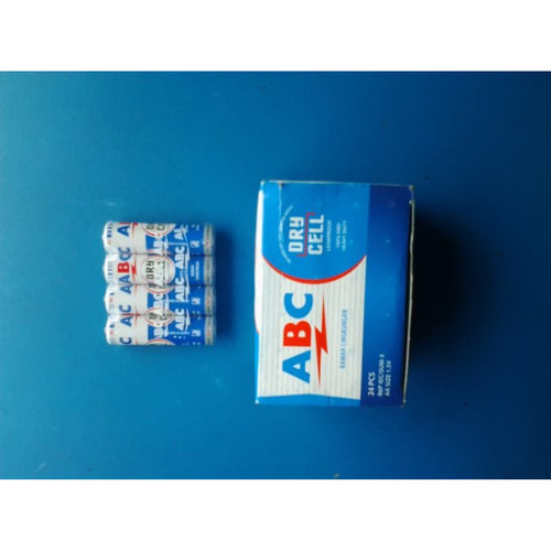 Foto Produk BATERAI ABC BIRU AA/ BATTERY ABC BIRU A2   ISI 24 PCS dari Minyak Kutus Jakarta