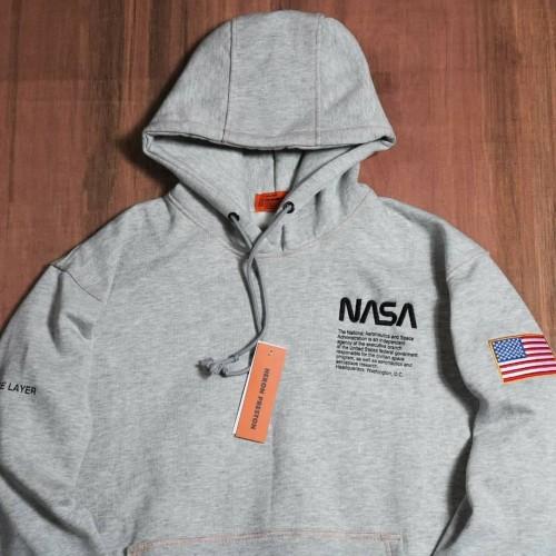 Foto Produk Sweater jaket hoodie NASA X Heron Preston Abu misty premium seller dari al-catras