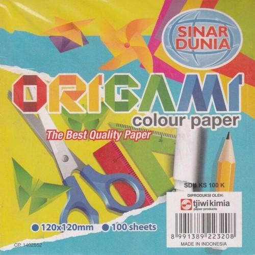 Foto Produk HOT SALE Kertas Origami Kecil 12X12 Sinar Dunia atk Terjamin dari ranishop741
