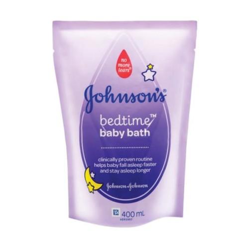 Foto Produk JOHNSON BABY BEDTIME BATH REFILL 400ML dari LotteMart Indonesia