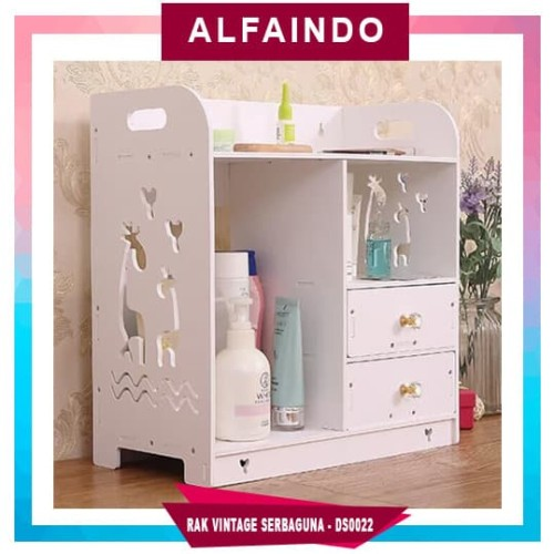 Foto Produk DS0022 Decorative Storage Rak vintage DOMESTIC DS0022 Decorative Stora dari AlfaIndo
