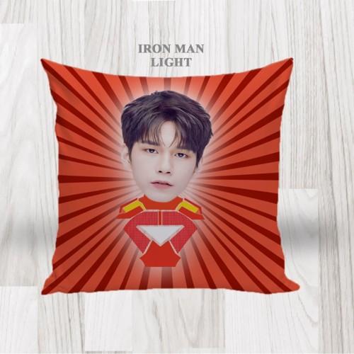 Foto Produk Bantal Sofa / Cushion foto karikatur - Ironman Light dari LittleLikz