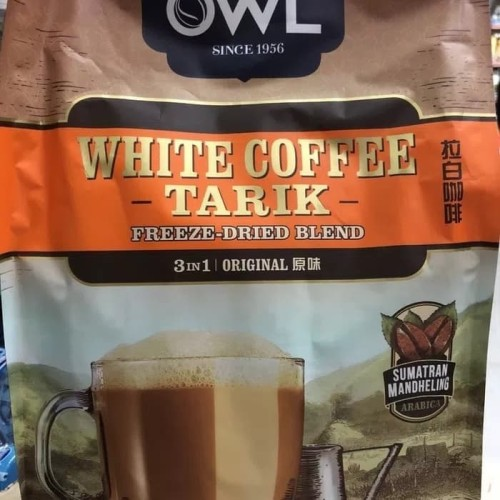 Foto Produk OWL WHITE COFFEE TARIK 3 IN 1 ORIGINAL SUMATRAN MANDHELING ARABICA dari foodsupply.co