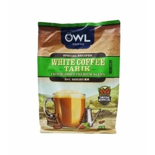 Foto Produk OWL WHITE COFFEE TARIK 3 IN 1 HAZELNUT SUMATRAN MANDHELING ARABICA dari foodsupply.co